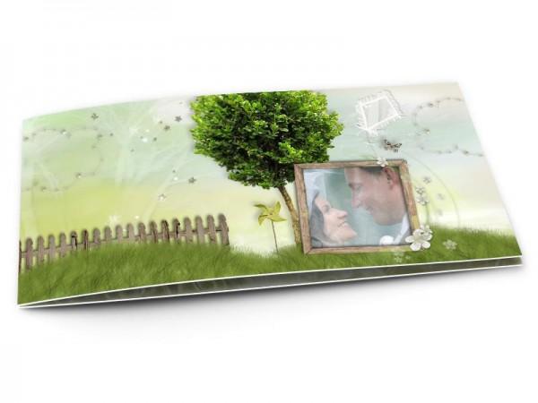 Remerciements mariage - Champêtre – le jardin d'éden