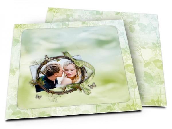 Remerciements mariage - Champêtre – flou artistique