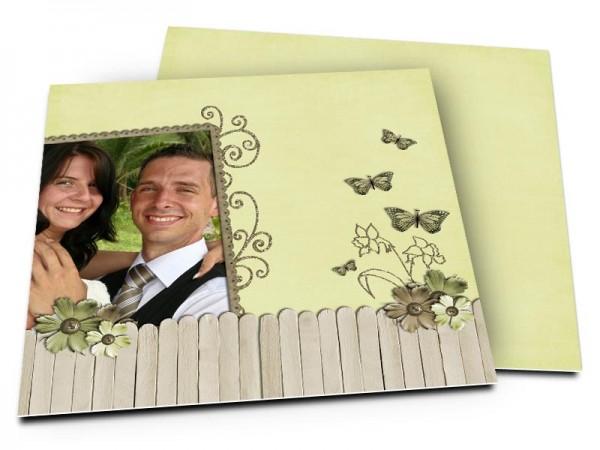 Remerciements mariage - Champêtre – les quatre papillons