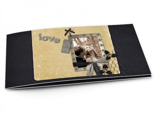 Remerciements mariage - Les étoiles – love beige