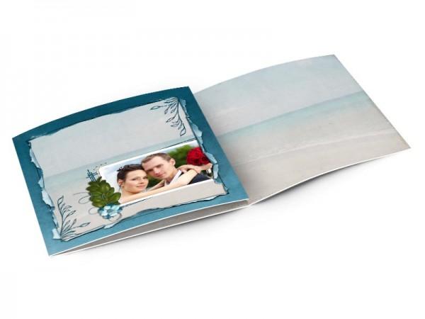 Remerciements mariage - Les îles – une plage de sable fin
