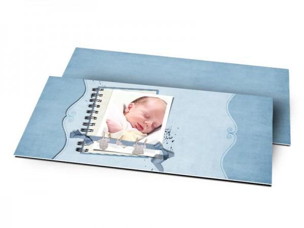 Remerciements naissance - Bloc note
