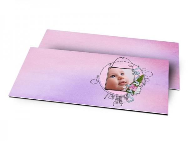 Remerciements naissance - Le monde de bébé