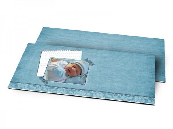 Remerciements naissance - Une vie en bleu