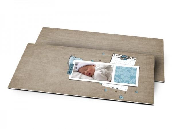 Remerciements naissance - Sobre, simple et moderne