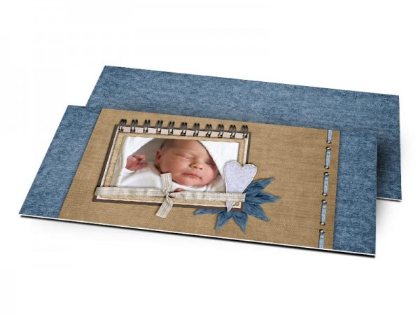 Remerciements naissance - Carnet-photo