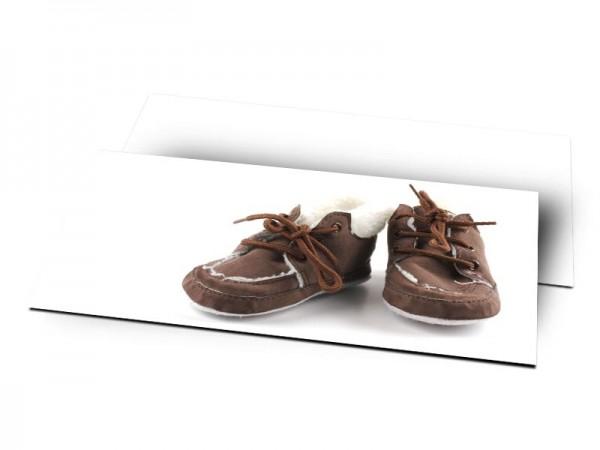 Remerciements naissance - Mes petits souliers