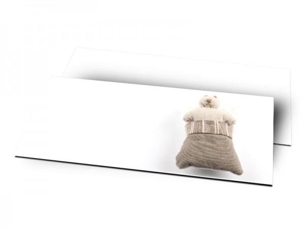 Remerciements naissance - La petite souris