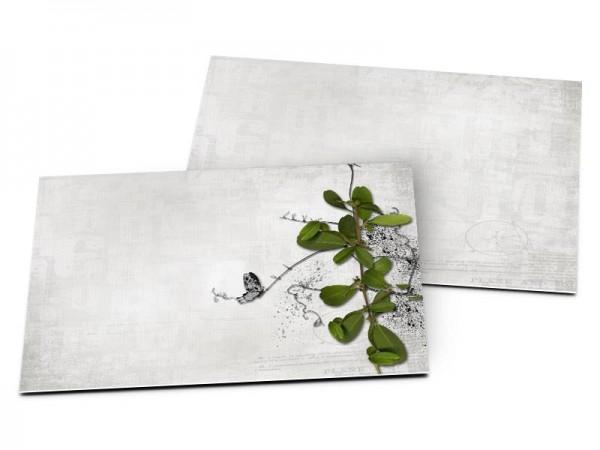 Carton d'invitation mariage - Un nid dans les arbres