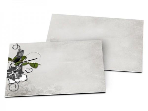 Carton d'invitation mariage - Symphonie champêtre