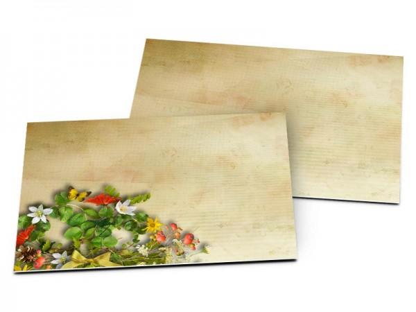 Carton d'invitation mariage - Poésie printanière
