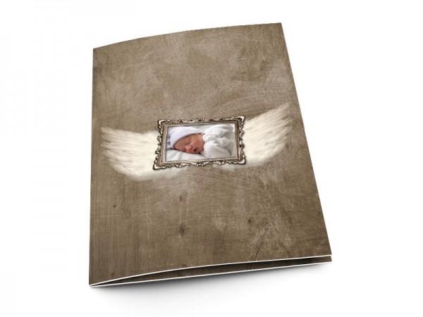 Menu baptême - Les ailes de l'ange