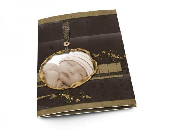 Menu baptême - Médaille d'or