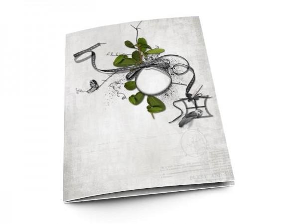 Menu mariage - Un nid dans les arbres