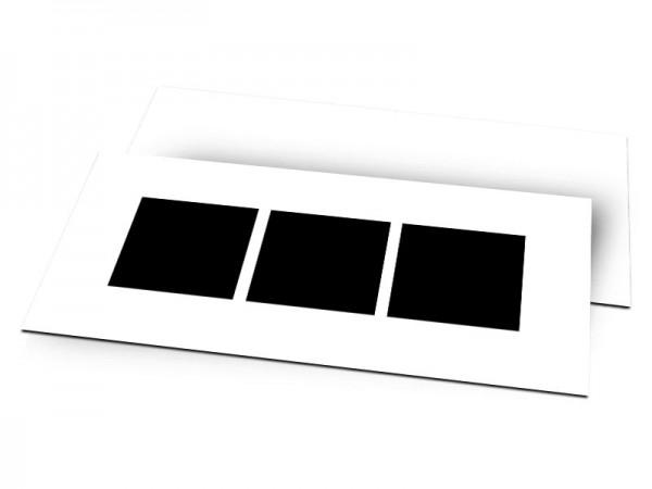 Pele-Mele - Pêle-mêle style 2: 3 photos carrées
