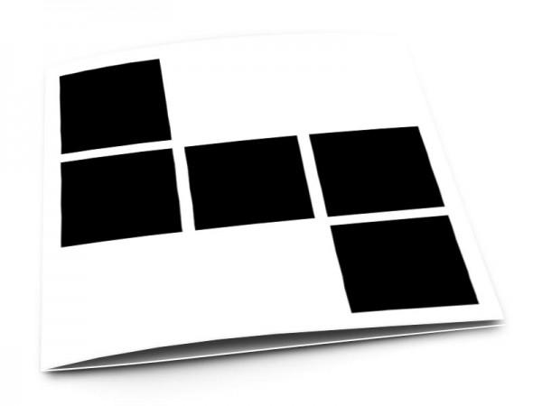 Pele-Mele - Pêle-mêle style 3: 5 photos carrées
