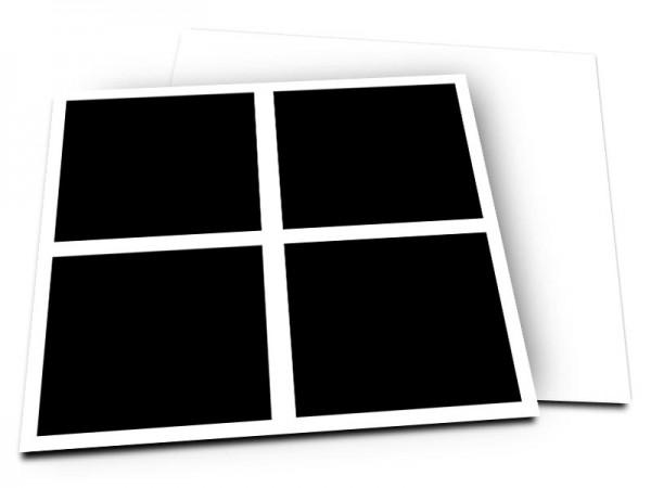 Pele-Mele - Pêle-mêle style 13: 4 photos carrées