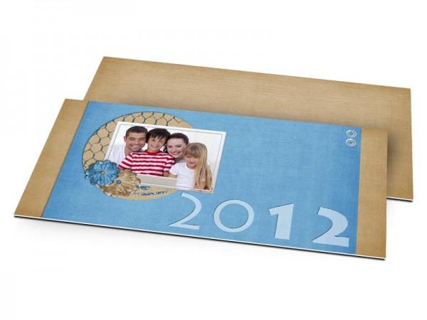 Cartes de voeux famille - A nous la nouvelle année