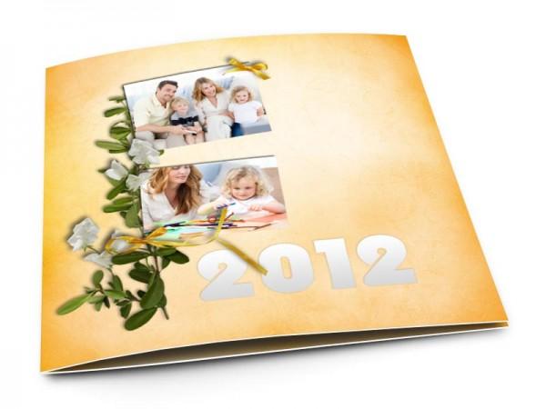 Cartes de voeux famille - Une avalanche de bonheur