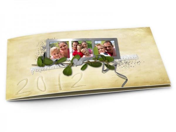 Cartes de voeux famille - Jardin secret