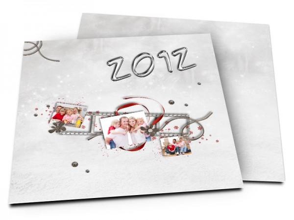 Cartes de voeux famille - Fiesta 2012