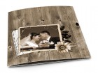 Remerciements mariage - Bois vieilli