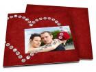 Remerciements mariage - Coeur de diamants