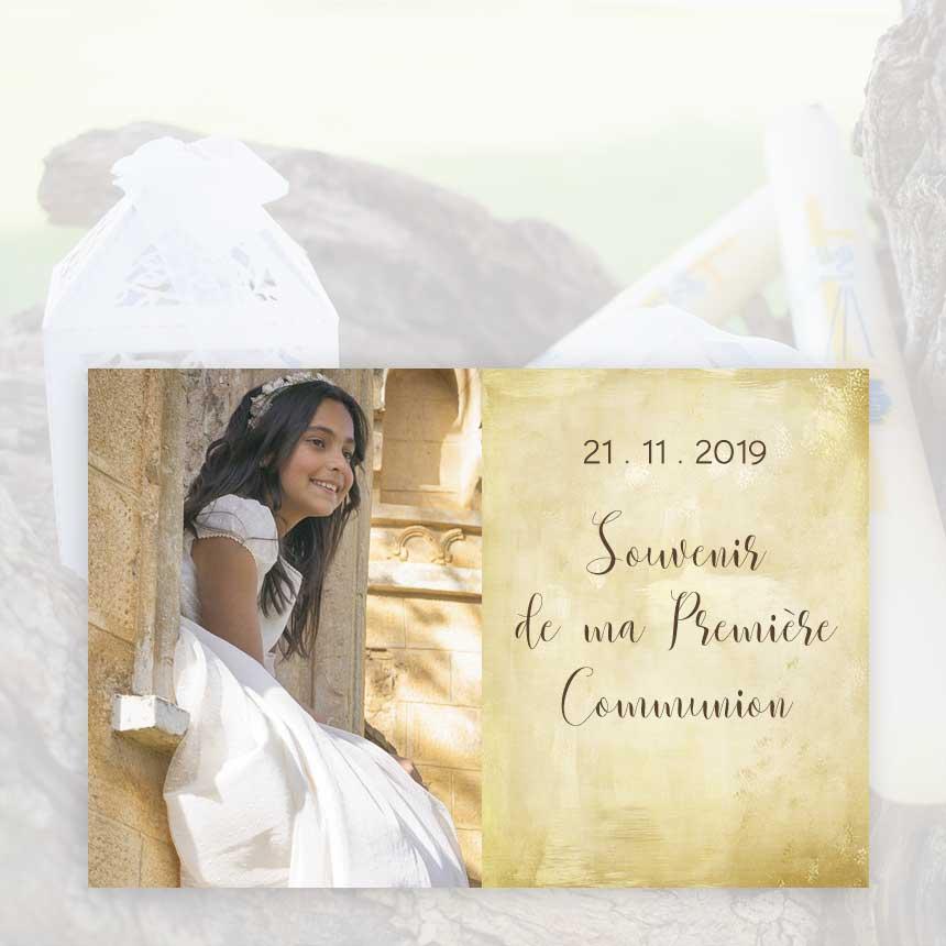 Remerciements communion